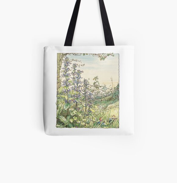 On the way to the Store Stump All Over Print Tote Bag