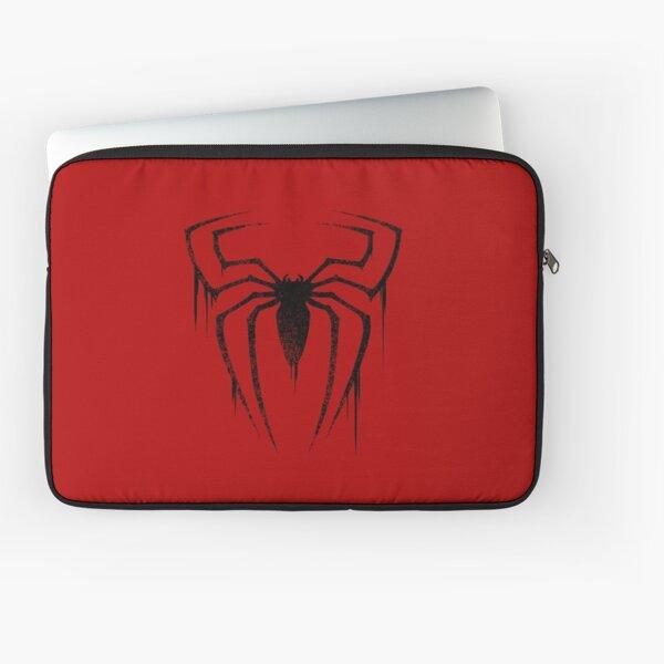 Symbole d'araignée (version noire) Housse d'ordinateur