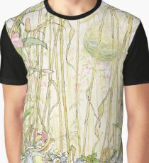 Primrose gathering flowers Graphic T-Shirt
