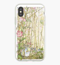 Primrose gathering flowers iPhone Case