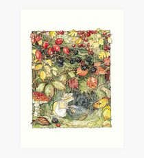 Primrose at the entrance to the tunnels Art Print