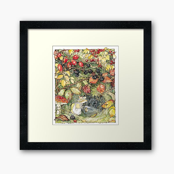 Primrose at the entrance to the tunnels Framed Art Print