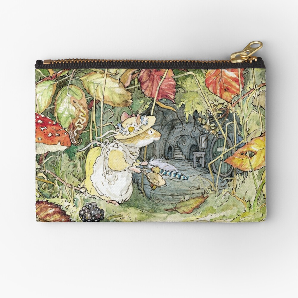 Primrose at the entrance to the tunnels Zipper Pouch