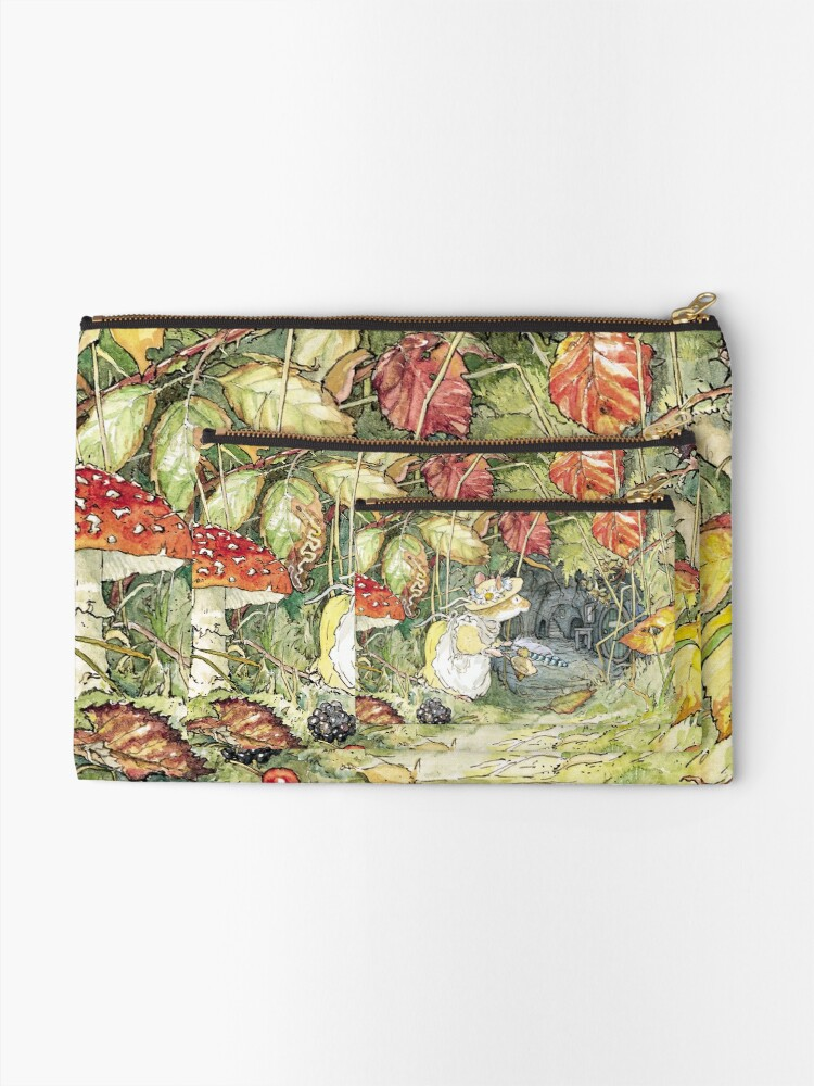 Alternate view of Primrose at the entrance to the tunnels Zipper Pouch