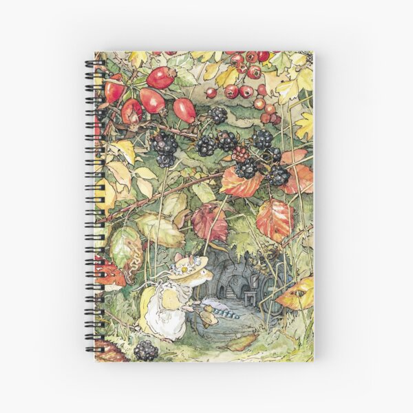 Primrose at the entrance to the tunnels Spiral Notebook