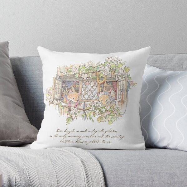 The Weavers Throw Pillow