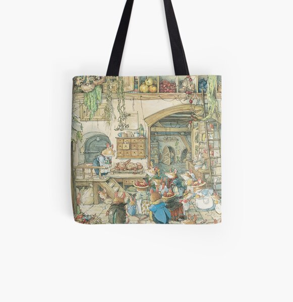 The fruits of the hedge All Over Print Tote Bag