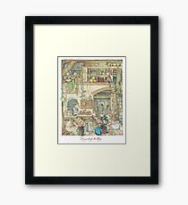The fruits of the hedge Framed Print