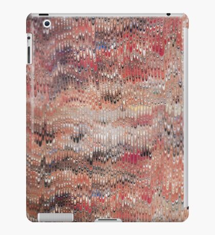marbled paper - featherlets iPad Case/Skin