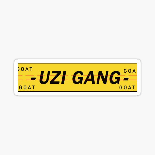 Uzi Gang  Sticker