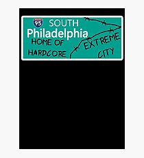 ECW Philadelphia - Hardcore City T shirt Photographic Print