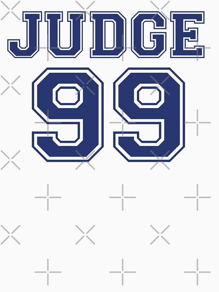 El juez 99 está por venir Camiseta New York Baseball - ¡soy un gran fanático! de Kristofsche