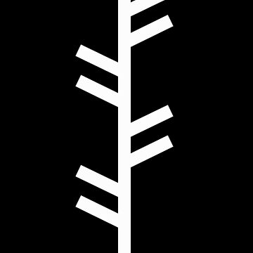 Fehu Runic Tree by potty