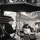 Winter Music, Salamanca Market, Hobart by BRogers