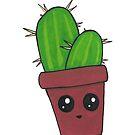 Happy Little Cactus by TakoraTakora