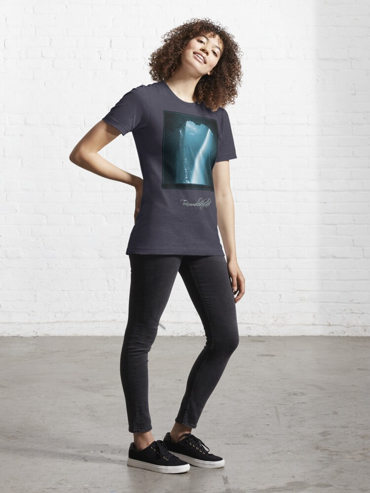 Alternate view of Trümmelbachfälle: cyan 2 (T-Shirt) Essential T-Shirt