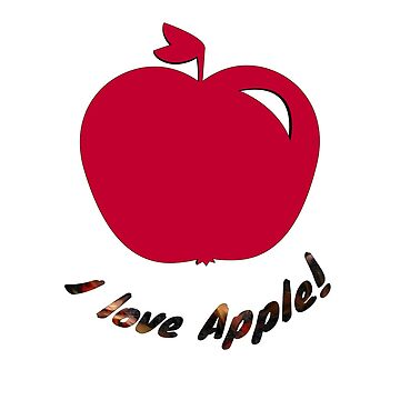I love apple! by ronis025