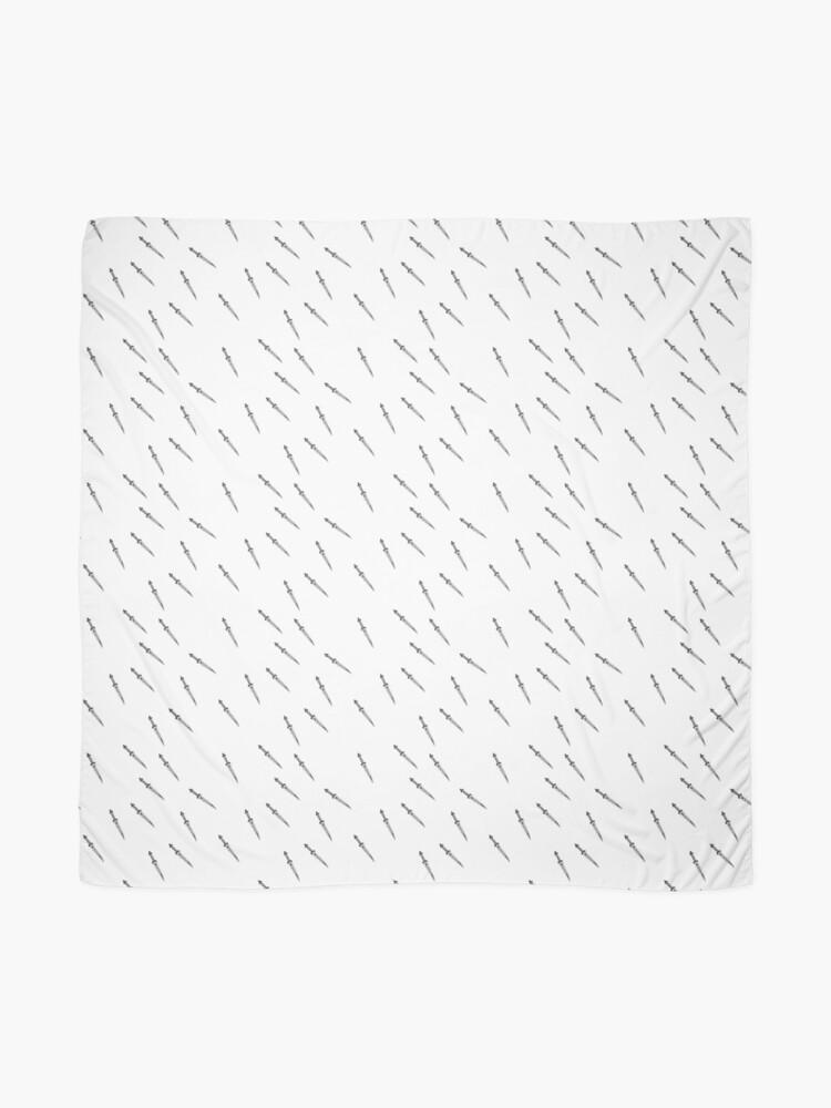 Alternative Ansicht von Rumplestiltskins Wee Daggers (Wiederholungsdruck) Tuch