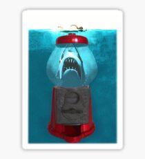 Jaws dispenser Sticker