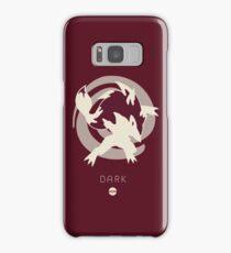 Pokemon Type - Dark Samsung Galaxy Case/Skin