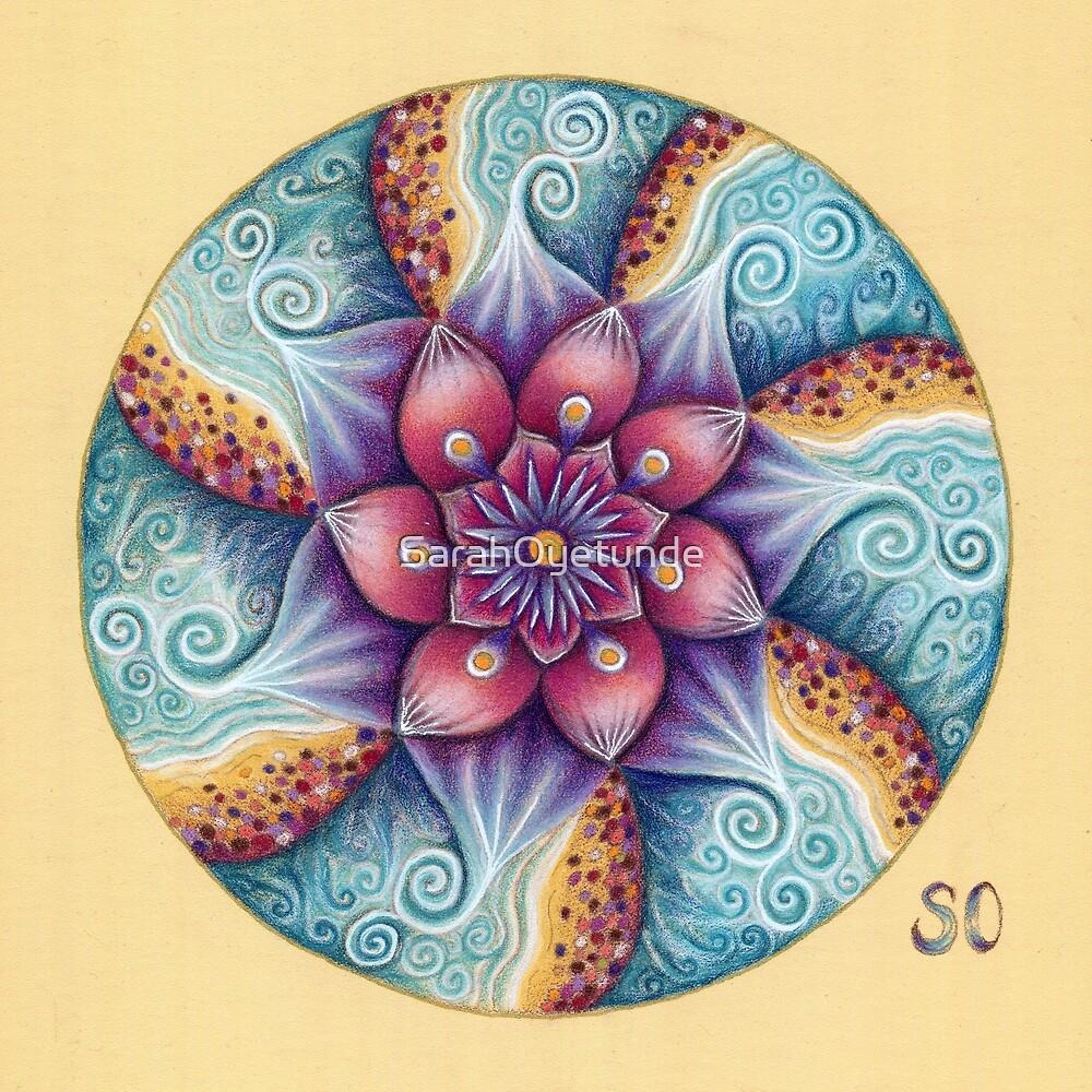 Seascape Mandala by SarahOyetunde