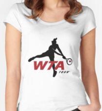 Wta tour Women's Fitted Scoop T-Shirt