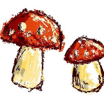 Mushrooms   by KaylaPhan