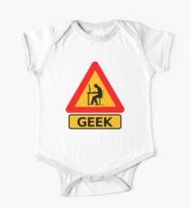 Geek Sign One Piece - Short Sleeve