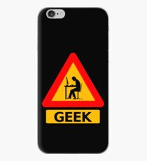 Geek Sign iPhone Case