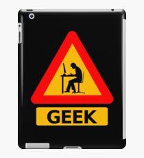 Geek Sign iPad Case/Skin