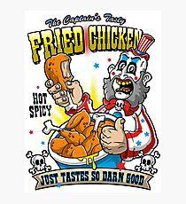 Tasty Fried Chicken Photographic Print