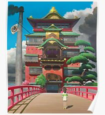Spirited Away Poster High Quality Poster