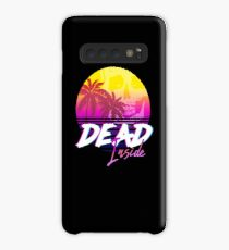 Dead Inside - Vaporwave Miami Aesthetic Spooky Mood Case/Skin for Samsung Galaxy