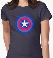 Pride Shields - Bi Women's Fitted T-Shirt
