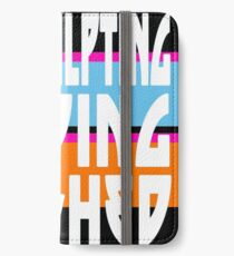 TOP SCULPTING - FOLDING - FINISHED iPhone Wallet/Case/Skin