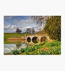 Spring at compton Verney Photographic Print