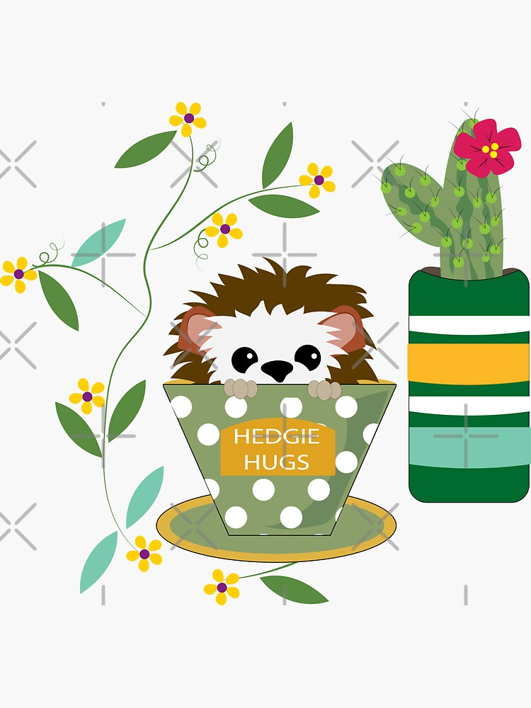 Indoor Gardening with Hedgie and Llama by CreativeContour