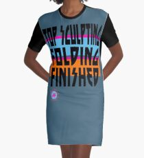 TOP SCULPTING - FOLDING - FINISHED T-Shirt Kleid