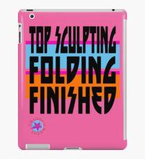 TOP SCULPTING - FOLDING - FINISHED iPad Case/Skin