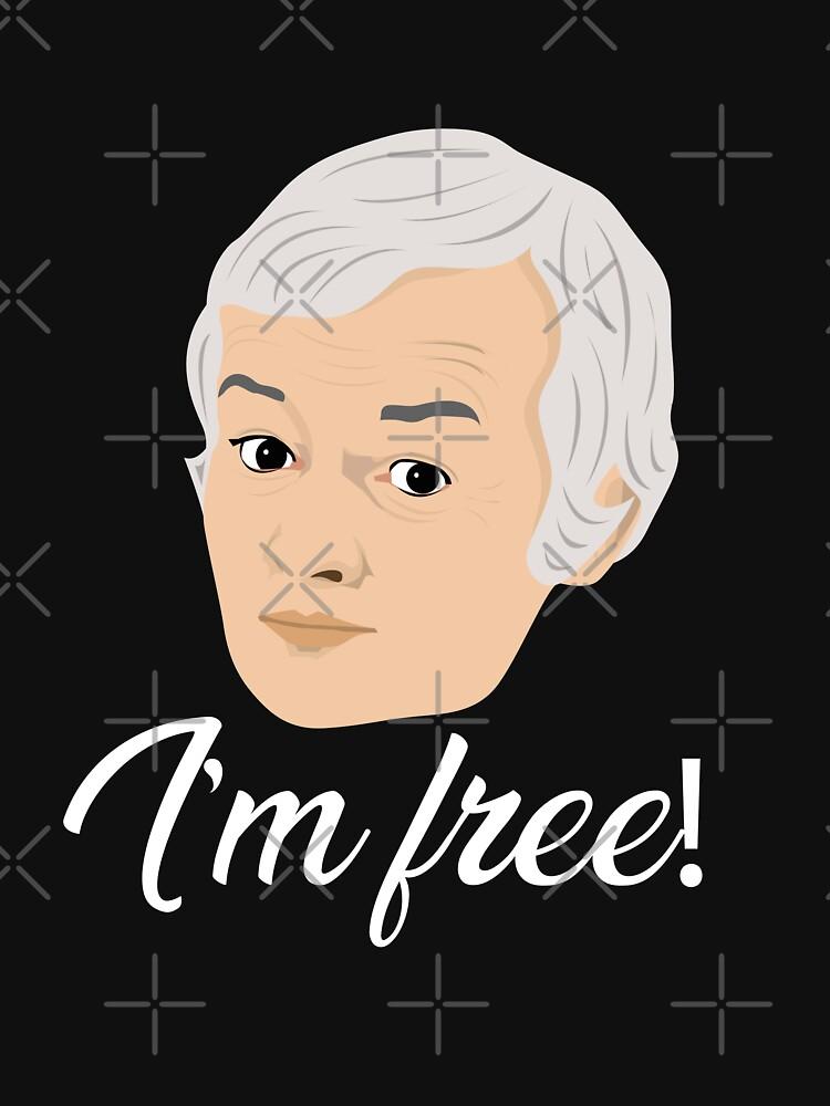 Mr Humphries - Im Free! by gregs-celeb-art