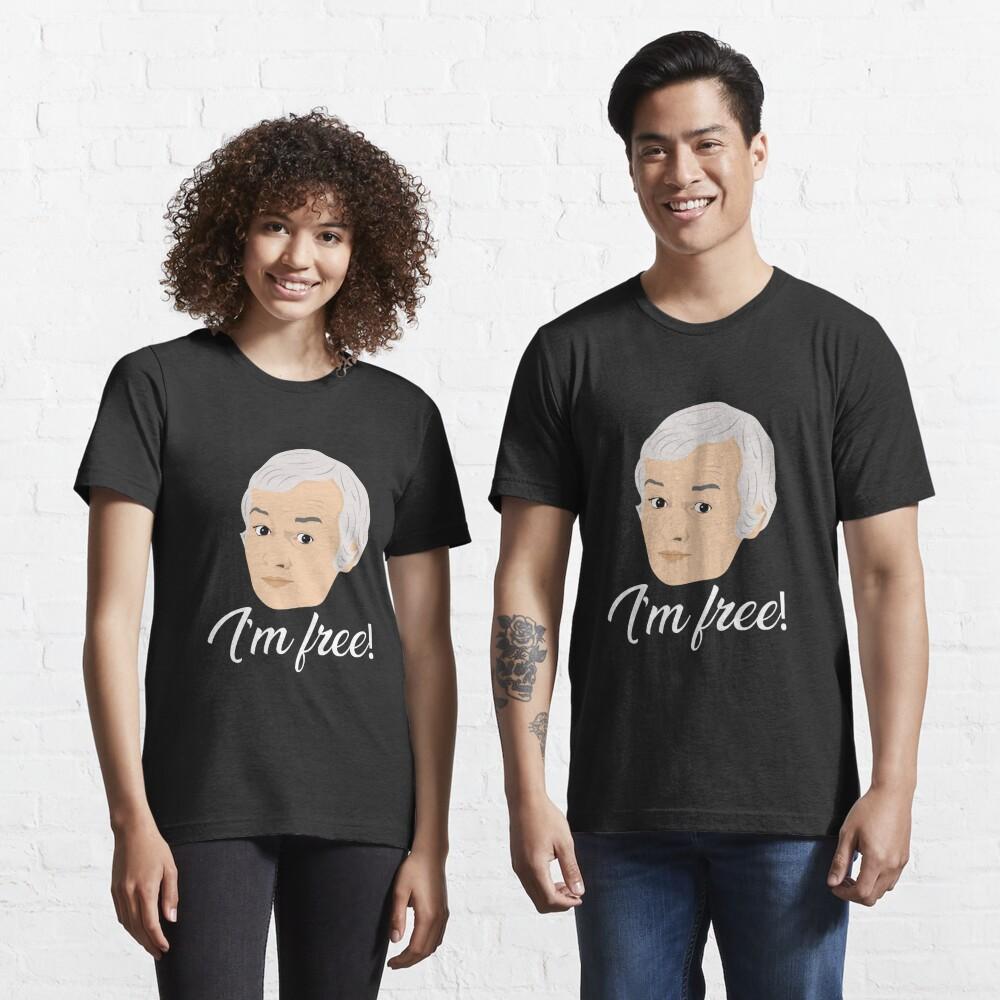 Mr Humphries - Im Free! Essential T-Shirt