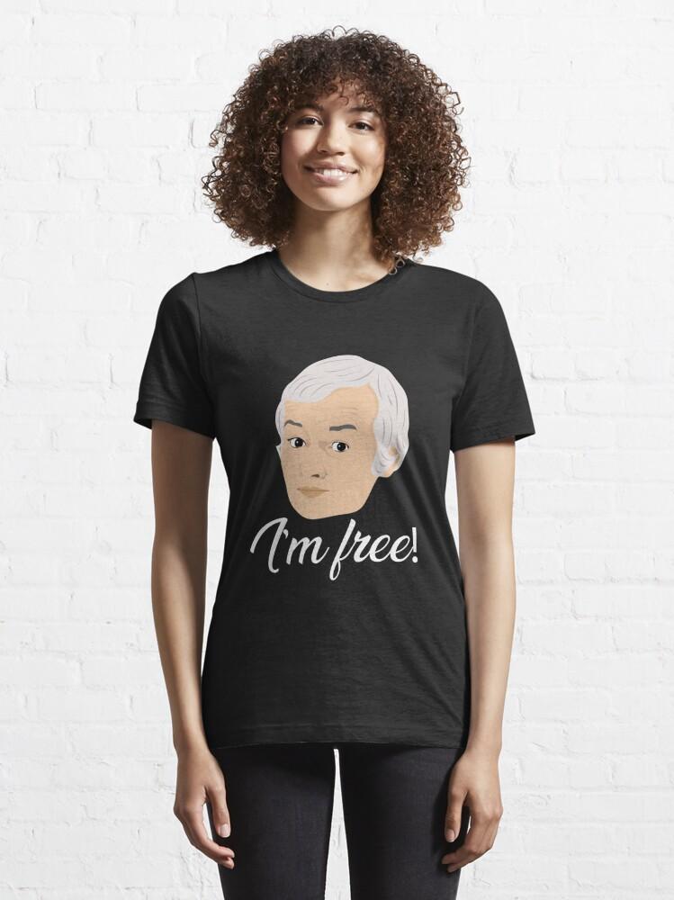 Alternate view of Mr Humphries - Im Free! Essential T-Shirt