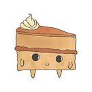 A Happy Little Cake Slice by TakoraTakora