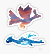 Guardians of Sky and Sea Sticker