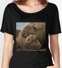 Southern Elephant Seals Women's Relaxed Fit T-Shirt