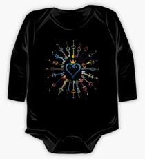 Kingdom Hearts Schlüsselschwerter Baby Body Langarm