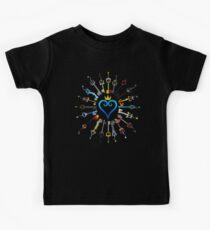 Kingdom Hearts Schlüsselschwerter Kinder T-Shirt