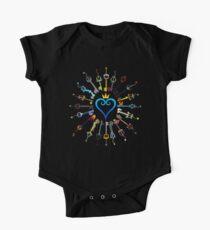 Kingdom Hearts Schlüsselschwerter Baby Body Kurzarm