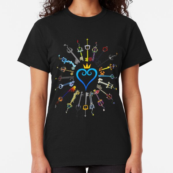 Kingdom Hearts Keyblades Classic T-Shirt