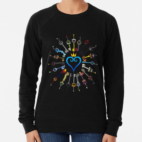 Kingdom Hearts Keyblades Sweatshirt léger